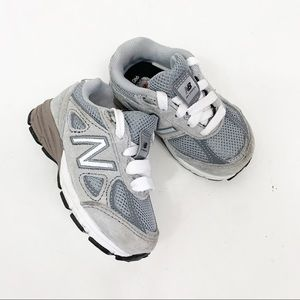 New Balance Infant Sneakers Gray White